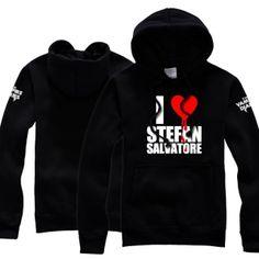 I Love Stefan Salvatore hoodie from The Vampire Diaries for men
