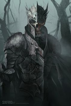 The Last General by sixfrid undead skeleton knight soldier fighter platemail armor helm helmet monster beast creature animal | Create your own roleplaying game material w/ RPG Bard: www.rpgbard.com | Writing inspiration for Dungeons and Dragons DND D&D Pathfinder PFRPG Warhammer 40k Star Wars Shadowrun Call of Cthulhu Lord of the Rings LoTR + d20 fantasy science fiction scifi horror design | Not Trusty Sword art: click artwork for source