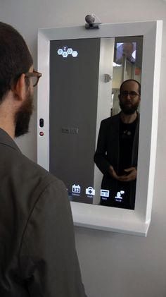Smart mirror #innovativeproducts #PropertyRepublic www.propertyrepublic.com.au