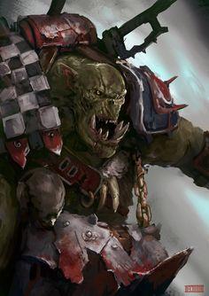 Diamondaectann,Orks,Warhammer 40000,warhammer40000, warhammer40k, warhammer 40k, ваха,…