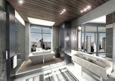 Hotel Bathroom Suite - contemporary - bathroom - Seattle - Garret Cord Werner Architects & Interior Designers