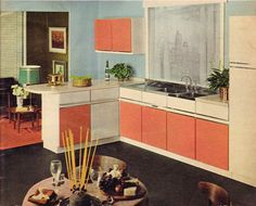Homes And Gardens  March 1964  Book of Kitchens.  Repinned by Secret Design Studio, Melbourne.   www.secretdesignstudio.com