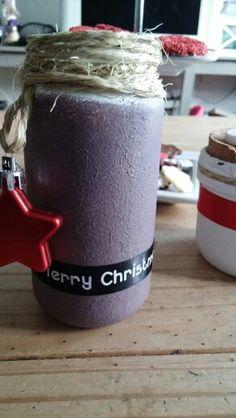 Kerst waxinelichtje