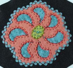 A blog about wool applique, quilting, embroidery and decorating.