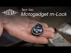 The Motogadget m-Lock means you never need a Key on your Bike again & it's still Secure. Modern RFID Technology in this Keyless Ignition. Simple and Elegant. Radio Frequency Identification, Master Key, Glass Vials, Technology, Personalized Items, Cafe Moto, Honda Cb, Motorcycle, Bike