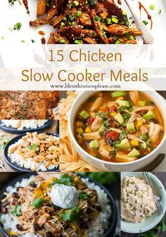 15 Make-your-life-easier Chicken Slow Cooker Recipes
