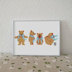 Hey, I found this really awesome Etsy listing at https://www.etsy.com/listing/507551038/blade-4-bears-bears-collection