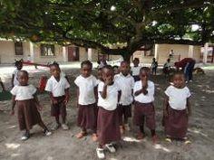 children of Equatorial Guinea africa