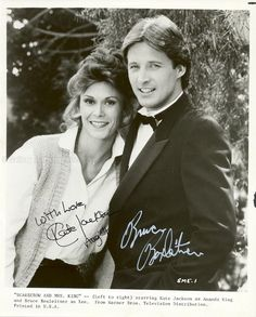 Lee and Amanda 80 Tv Shows, Movies And Tv Shows, I Movie, Movie Stars, Amanda King, Bruce Boxleitner, Detective Shows, Kate Jackson, Moving Pictures