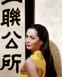 Actress Nancy Kwan turns 76 today - she was born in The World of Suzie Wong, Flower Drum Song, The Wrecking Crew, Noble House and The Main Attraction are some of her credits. Classic Actresses, Hollywood Actresses, Actors & Actresses, Hollywood Actor, Diana Dors, Vivien Leigh, Rita Hayworth, Marilyn Monroe, Flower Drum
