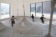 Indoor plyaground in Seoul by SHIN Architects   Off Some Design