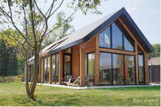 casas de luxo Viking Creek - The Lodge at Whitefish Lake Modern Barn House, Barn House Plans, Modern House Design, Glass House Design, Building Design, Building A House, Loft House, Facade House, House Facades