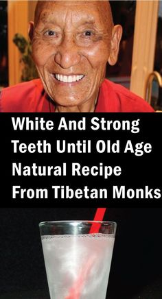 I gamle tider visste tibetanske munker hvordan de skulle opprettholde tennene sunne til gamle tider. Finn ut en naturlig oppskrift av tibetanske munker for hvite og sterke tenner Stronger Teeth, Natural Beauty Remedies, Old Age, In Ancient Times, Stark, Alter, Natural Health, Healthy, Christmas