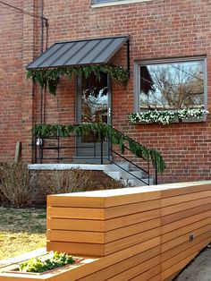 Classic metal awning in Hyattsville, MD