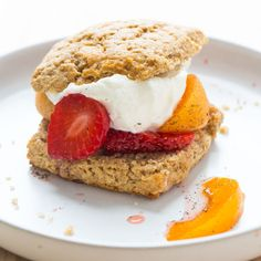 This whole-grain shortcake recipe pairs perfectly with any fruit filling for a healthy dessert. We prefer light buckwheat flour over the darker variety--its milder flavor lets the fruit shine. Egg Free Recipes, Healthy Recipes, Freezer Recipes, Healthier Desserts, Freezer Cooking, Healthy Breakfasts, Juice Recipes, Fruit Recipes, Meat Recipes