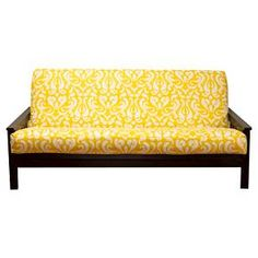 Siscovers Adele Futon Cover Yellow Full Target Covers Slipcovers
