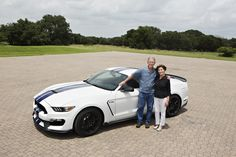 Gooding & Company will be auctioning off a brand-new 2016 Ford Shelby GT350 on August 15 at Pebble Beach.