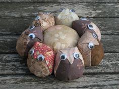 Owl Pincushion for Jenny