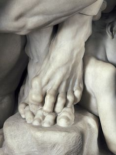 Jean-Baptiste Carpeaux - Ugolino and His Sons, detail