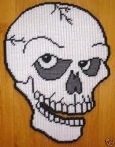 SKULL photo of a pattern that I made. My photo is in this board. Sherry Atbutterfly.