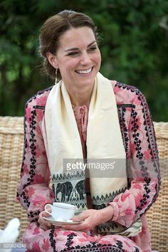 Catherine Duchess of Cambridge visits the Centre for Wildlife Rehabilitation and Conservation at Kaziranga National Park on April 13 2016 in Guwahati, India.