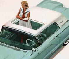 1960 Ford Thunderbird Sunroof