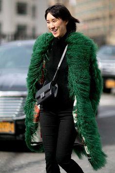 Inspiration: New York Fashion Week Street Style