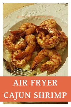 Ill admit when DH first came home with the air fryer I was like ANOTHER appliance? but it DOES make cooking for two very simple. One of my favorite recipes so far is the air fryer cajun shrimp that came in the booklet with the air fryer (the Air Fryer Recipes Potatoes, Air Fryer Oven Recipes, Air Fryer Recipes Shrimp, Air Fryer Recipes Asparagus, Air Fryer Recipes Vegetables, Seafood Recipes, Cooking Recipes, Cooking Courses, Cooking Bacon