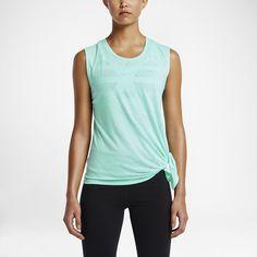 Damski T-shirt treningowy Nike Club Side-Tie Logo. Nike Store PL