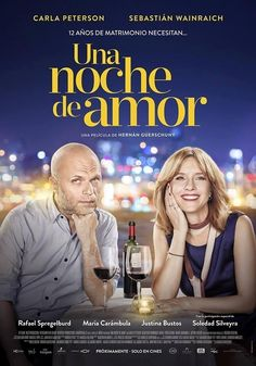 Una Noche de Amor (One Night of Love) is an Argentine romantic comedy film co-written and directed by Hernán Guerschuny. It stars Sebastián Wainraich (who also wrote the script) and Carla Peterson. The film also stars Soledad Silveyra, Rafael Spregelburd, María Carámbula and Justina Bustos. Plot: A couple who share many tastes love their children, and their children love them. But love? The fun? The passion? Between them it has ceased to exist and will have to make a decision with their…