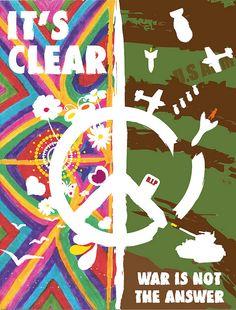 1960s anti-war poster