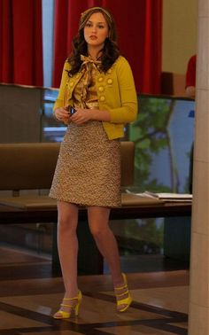 Blair Waldorf Outfit - Gossip Girl (The Goodbye Gossip Girl)
