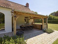 Outdoor Lounge, Outdoor Areas, Outdoor Life, Backyard Patio Designs, Backyard Pergola, Backyard Kitchen, Outdoor Living Rooms, Modern Garden Design, Back Patio