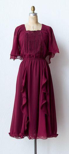 vintage 1970s dress | 70s dress