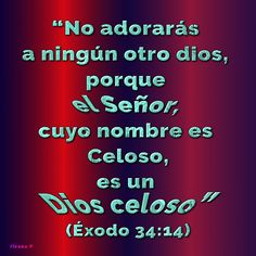 Éxodo 34:14
