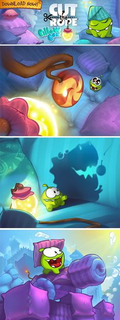 Game art by Nikita Bulatov, via Behance