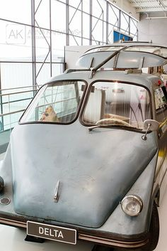 Old cars in hymer museum in germany. Anna Karwowski: Hymer museum
