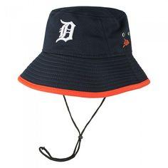 38e59318b77 Detroit Tigers Team Hex Bucket Hat At Campus Den Tiger Team