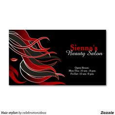 Sold #Hairstylist business card #hairdresser #salon Available in different products. Check more at www.zazzle.com/celebrationideas