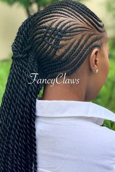 Designed Lemonade Braids ❤ #lovehairstyles #hair #hairstyles #haircuts