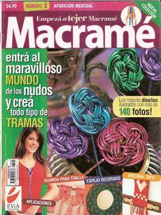Empezar a Tejer Macrame Nº 2 (Nueva Coleccion) - Marleni Fontaine - Álbuns da web do Picasa