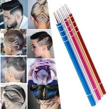 Pro Engraving Shaver Pen+Tweezer+10 Blades For Hair Eyebrows Beards St