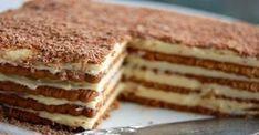 Γλυκές Τρέλες: Πεντανόστιμη και πανεύκολη τούρτα με μπισκότα πτι-μπερ σοκολάτας!!!….Θα τη λατρέψουν τα παιδιά σας.