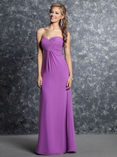 2016 A-line Lilac Chiffon Davinci Bridesmaid Dress 60232 Pictures Of Bridesmaid  Dresses 6725ff06df90
