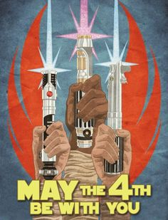 May the 4th Be With You :-)