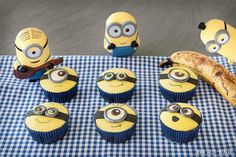Sallys Blog - Minions-Muffins – Bananenmuffins