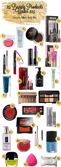 25 Beauty Products Under $25 To Grab during the Sephora Beauty Sale - www.beingmelody.com