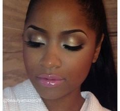 Wedding Makeup Looks For Black Ladies : 1000+ images about Make Up Looks on Pinterest Tika ...