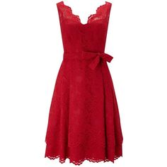 Phase Eight Milly Lace Dress, Scarlet (€115) ❤ liked on Polyvore featuring dresses, red, lace dress, lace cocktail dress, lace maxi dress, lace midi dress and red lace cocktail dress
