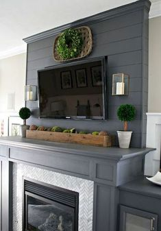 Inspiring Fireplace Ideas for Your Living Room (65)